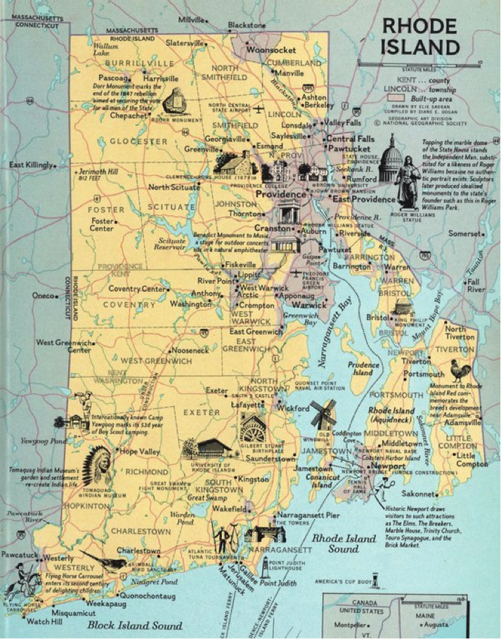 Putting Rhode Island on the Map - Roger Williams Initiative