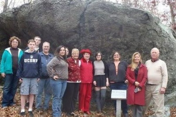 Roger Williams Family Association biannual pilgrimage to Margaret's Rock 2015