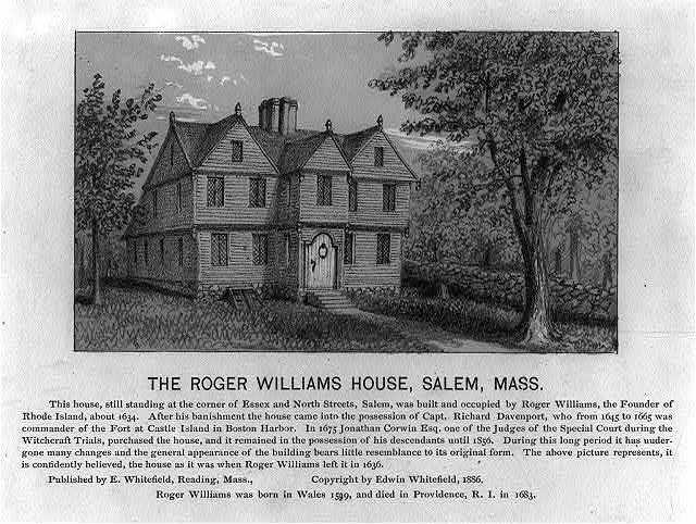 Roger Williams's Salem Home